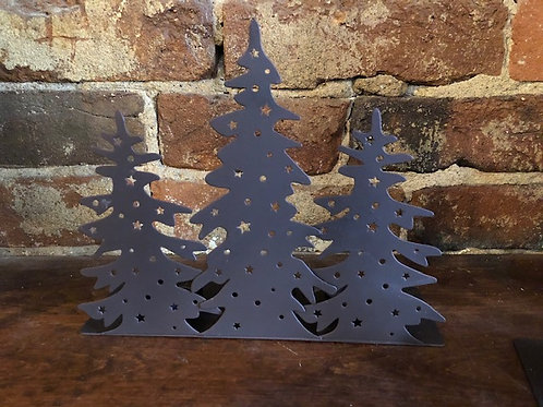 Metal tree votive holder
