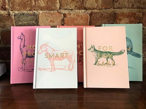 Vintage inspired Snarky Journals-7 styles