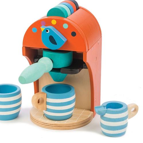 Wood Toy Espresso Machine