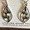 Thumbnail: Nature scene sterling earrings
