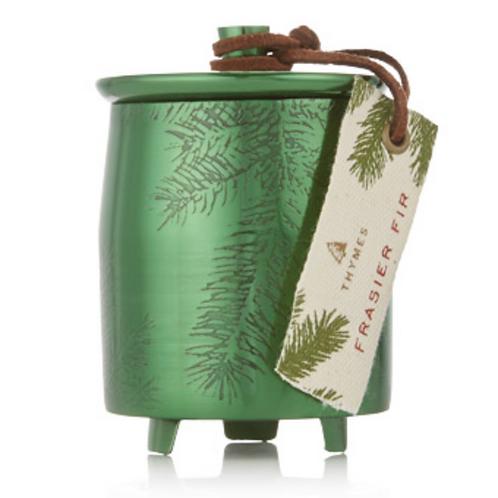 Frasier Fir Small Green Tin Candle/4 ounce