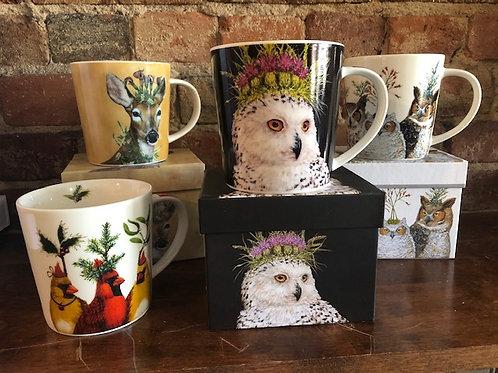 Vicki Sawyer Whimsy Mug with Gift Box