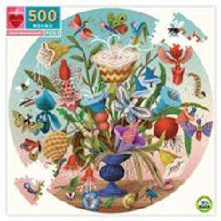 500 Piece Round Puzzle/3 Styles