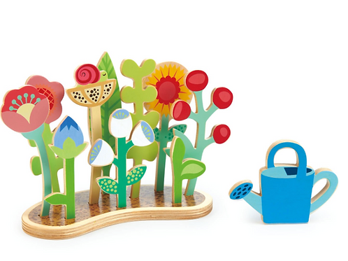 Wood Flower Bed toy/puzzle