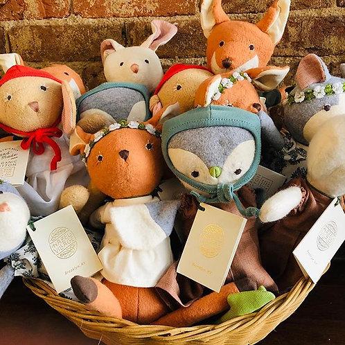 Handcrafted Organic Animal Dolls