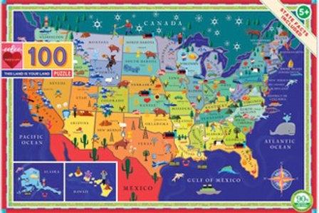 100 Piece Puzzle/ 3 Styles