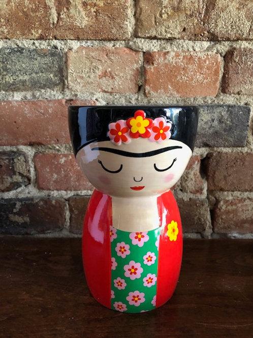 Sweet Frida Kahlo Vase