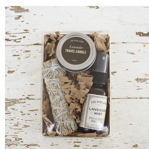Organic Lavender Smudge Kit
