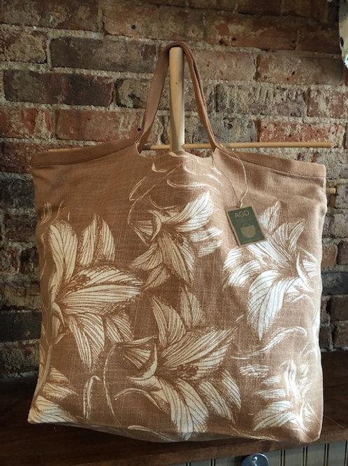 Stylish shopper cotton Floral bag