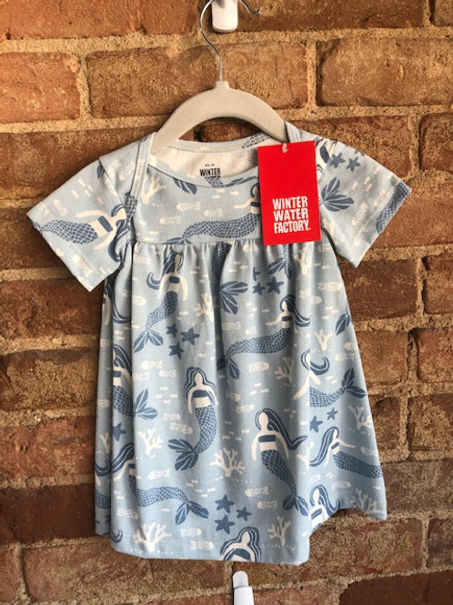 Organic Cotton Baby Mermaid Dress