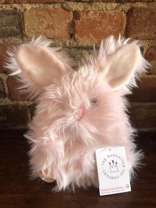Fluffy Bunny Puppet