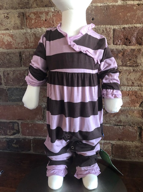 Bamboo Pink/Purple stripped Outfit