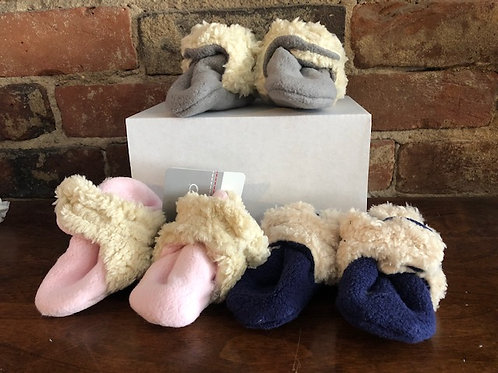 Furry extra cushy/warm fleece booties/Call or email about availability