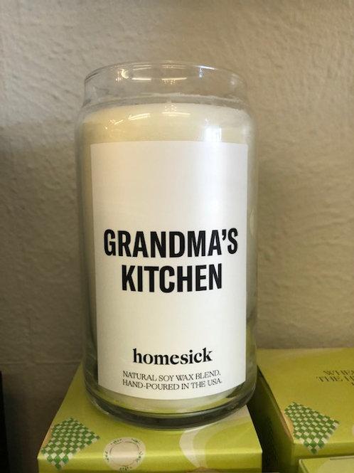 Grandmas kitchen Candle