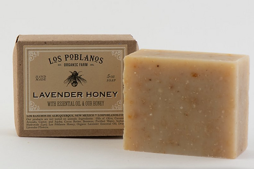 Organic Lavender Honey Handmade Soap