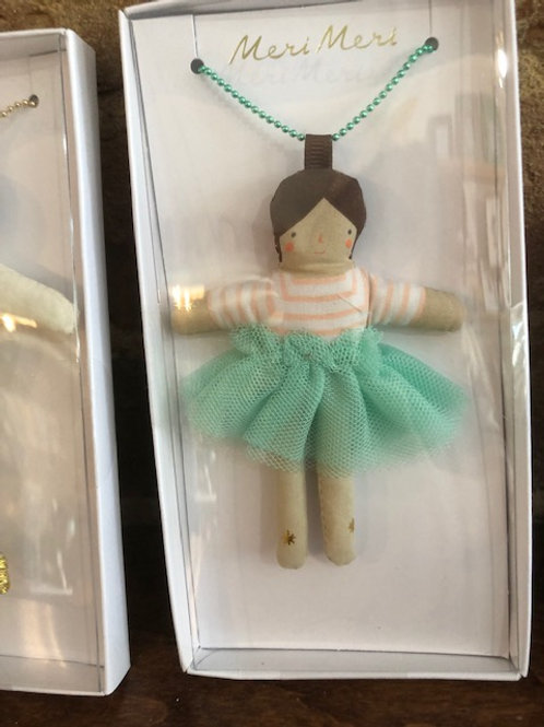 Whimsical  Doll Necklaces