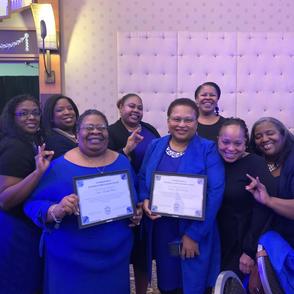 Zeta Dove Awardees