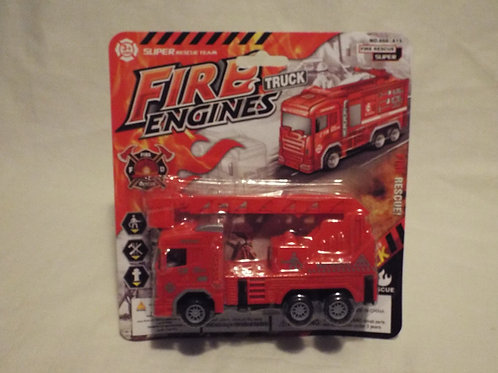 Friction Fire Engine with Ladder