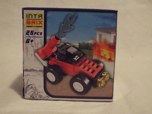 Intra Brix fire car with monitor