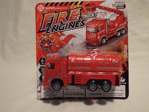 Friction Fire Engine Tanker