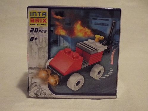 Intra Brix Fire Car