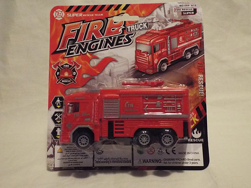 Friction Fire Engine with top monitor