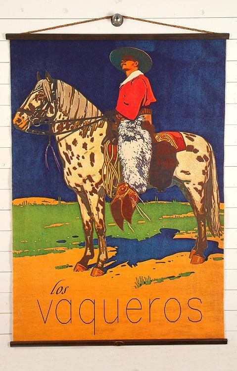 Los Vaqueros Canvas Wall Chart (2365)