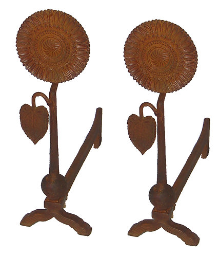 Sunflower Andiron