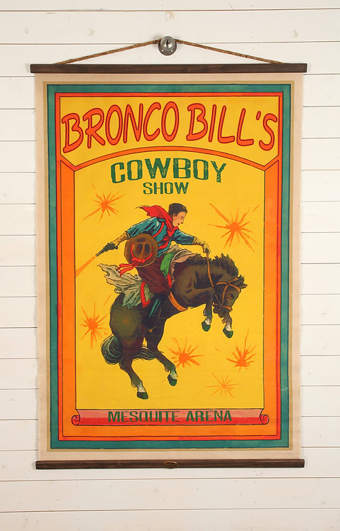 Bronco Bill's Canvas Wall Chart (2212)