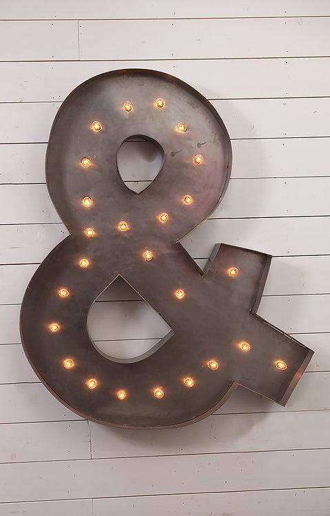Decorative Ampersand Sign