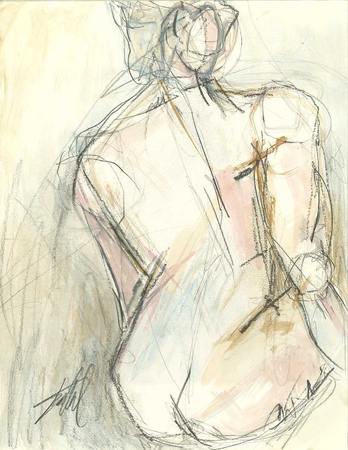 Nude 404 Giclee Print