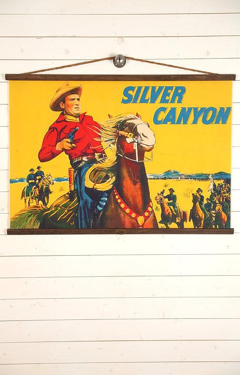 Silver Canyon Canvas Wall Chart (2218)