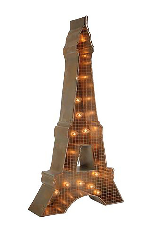 Decorative Eiffel Tower Sign
