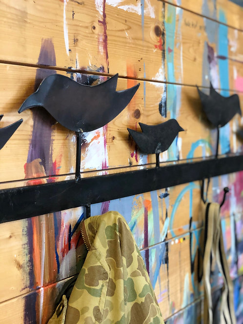 Blackbirds Hook Rack