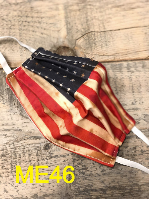 Vintage US Flag Mask