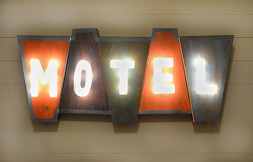 Decorative Motel Sign