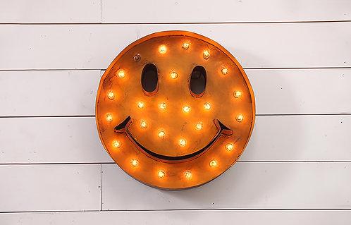 Decorative Happy Face Sign