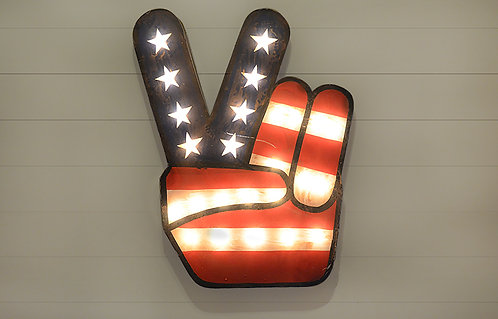 Decorative Victory Sign