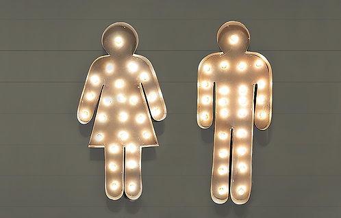 Decorative Male - Female Signs