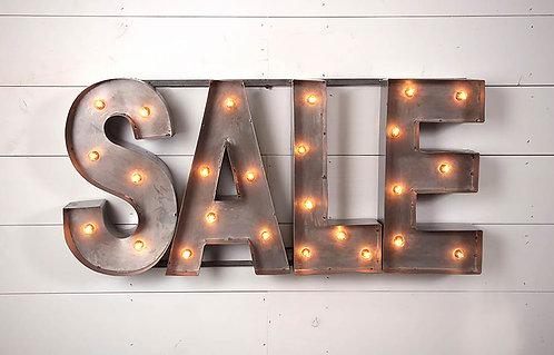 Decorative Sale Sign