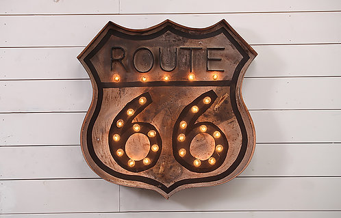 Decorative Route 66 Sign