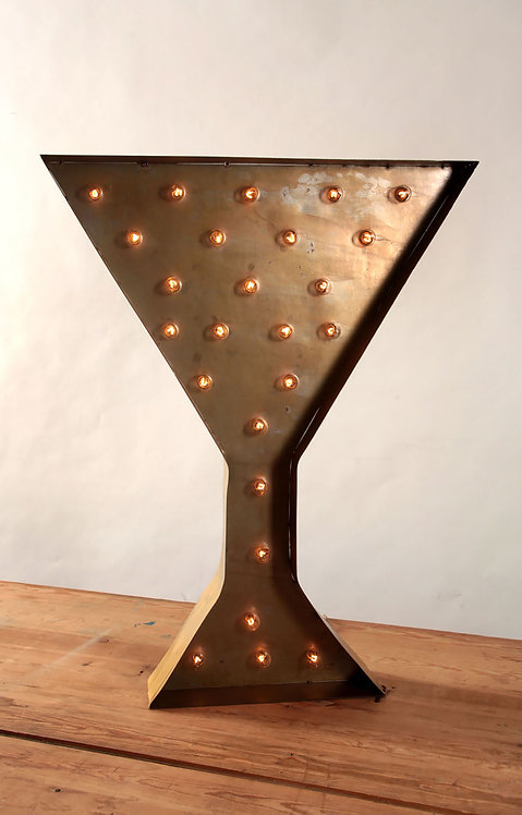 Decorative Martini Sign