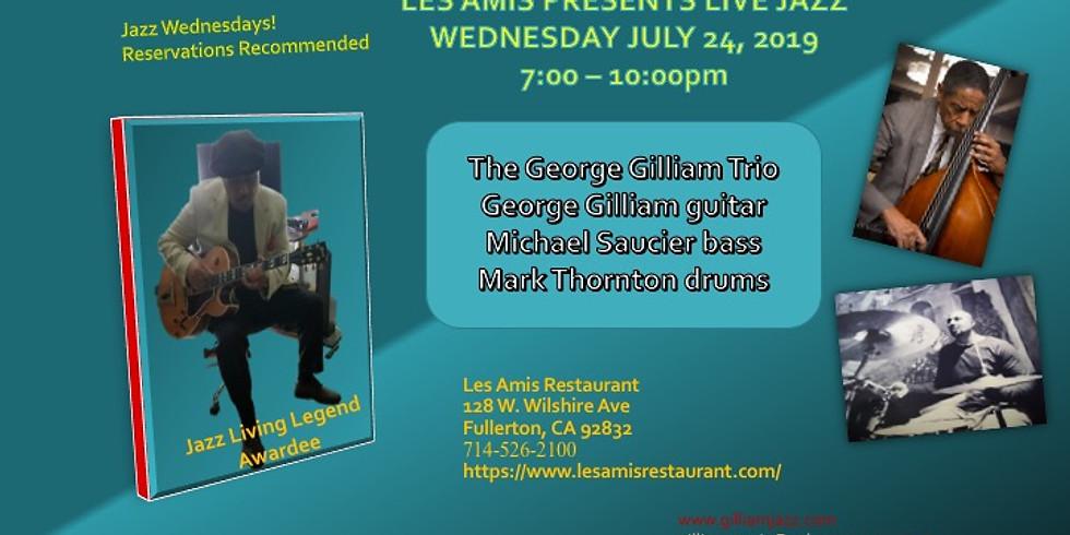 Wednesday Jazz Night with George Gilliam Trio