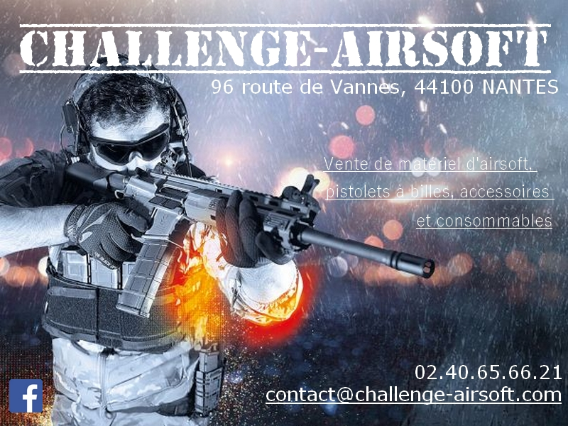 support sponsoring challenge airsoft