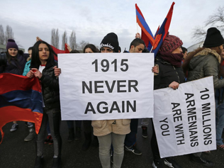 Macron declares April 24 commemoration day of Armenian genocide in France