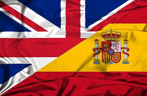 bandera inglés-español