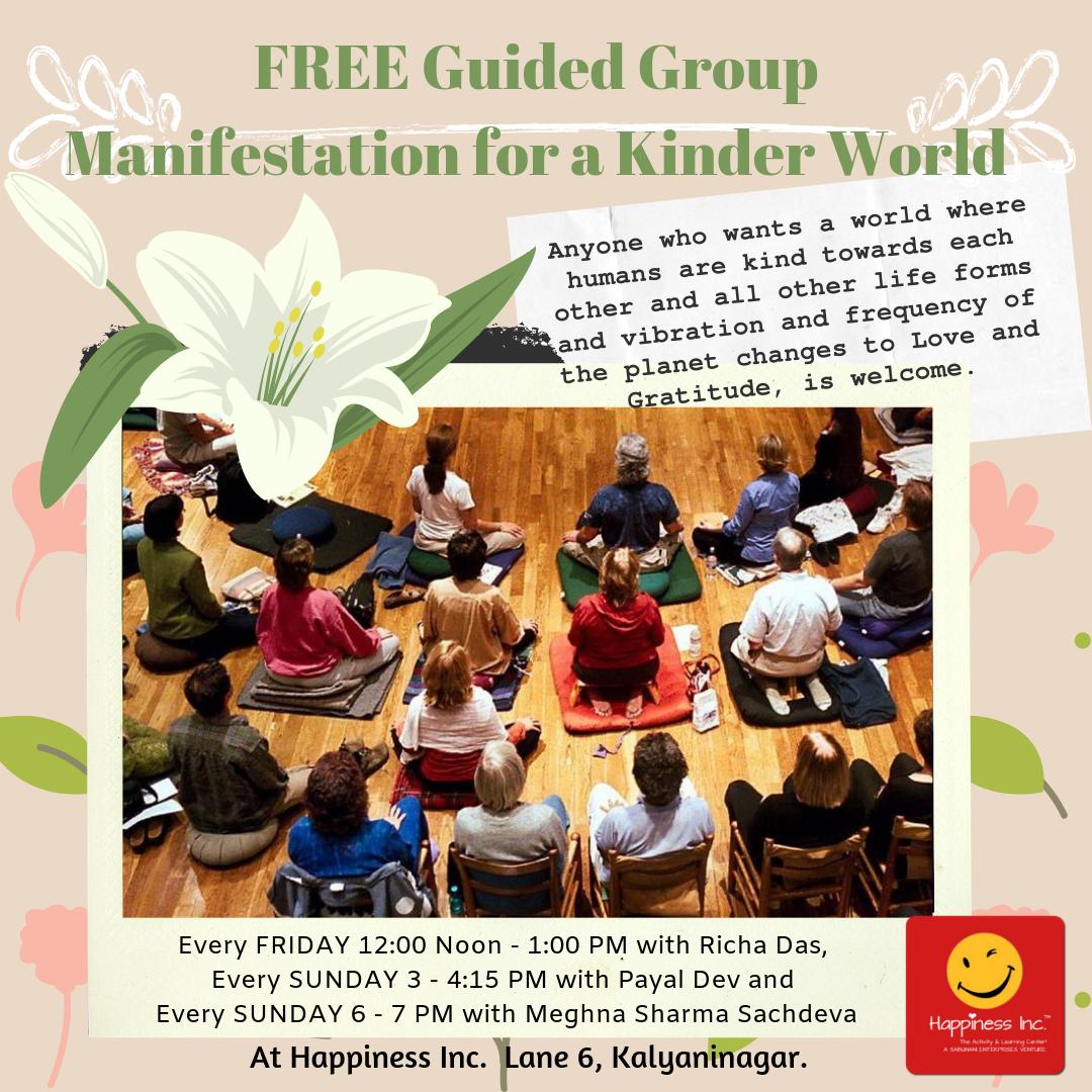 Guided Group Manifestation for a Kinder