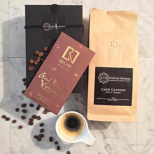 Boîte cadeau Coffee time