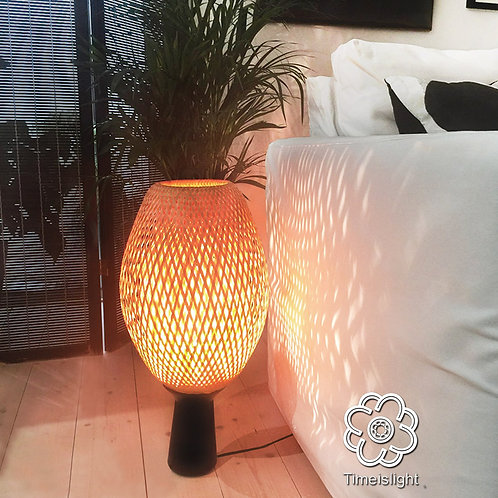 Lampe COCOON sur socle - Timeislight