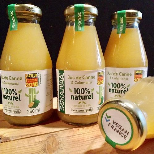 Jus de canne à sucre original - 260 ml - Lot de 3 bouteilles